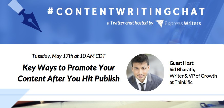 ContentWritingChat with Sid Bharath