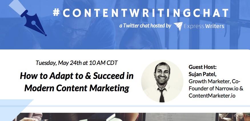 #contentwritingchat, content marketing