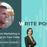 write podcast with brandon schaefer
