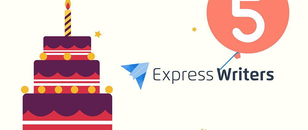 express writers 5 anniversary