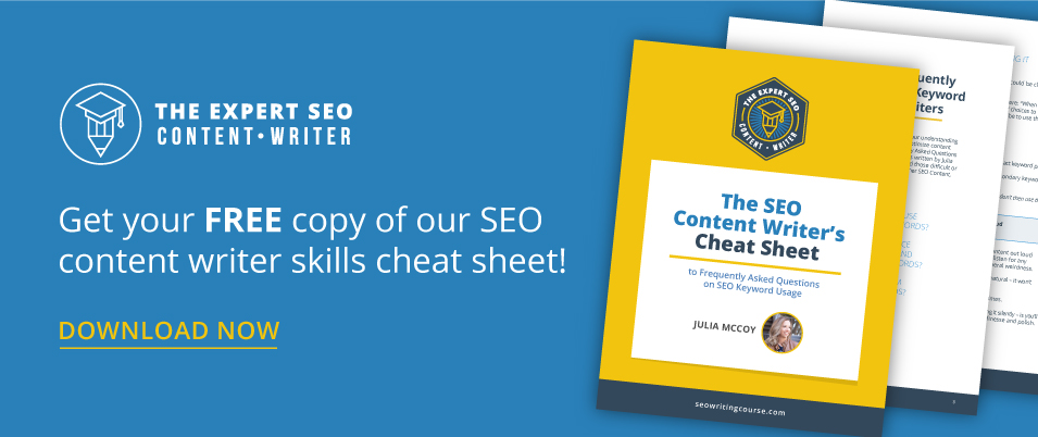 seo cheat sheet awesome cta