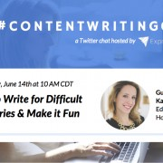 ContentWritingChat with Kathleen Garvin 2