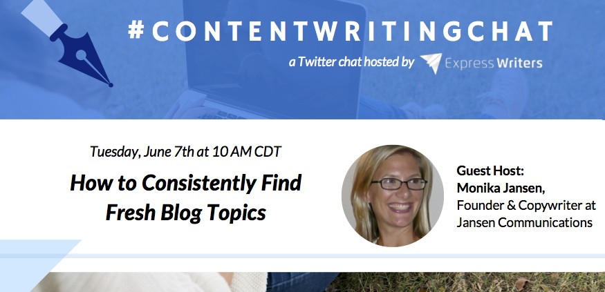 ContentWritingChat with Monika Jansen