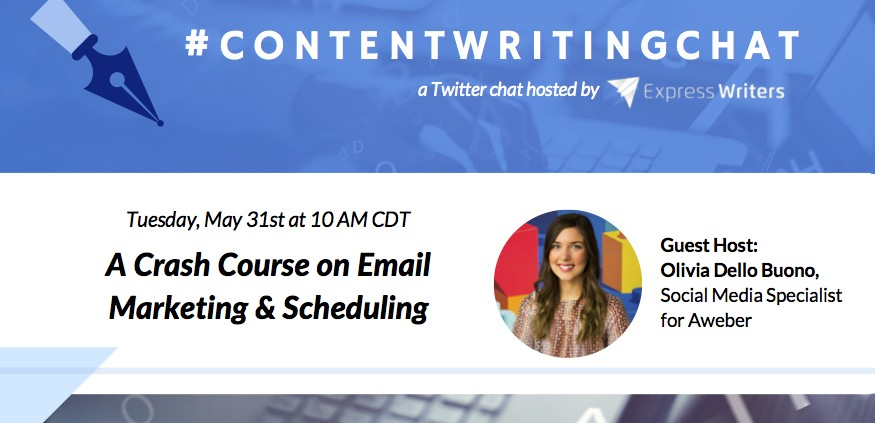 #ContentWritingChat, email marketing