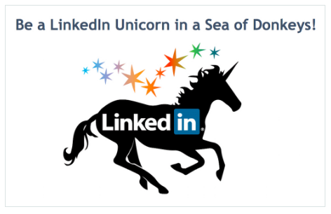 LinkedIn Unicorn screenshot
