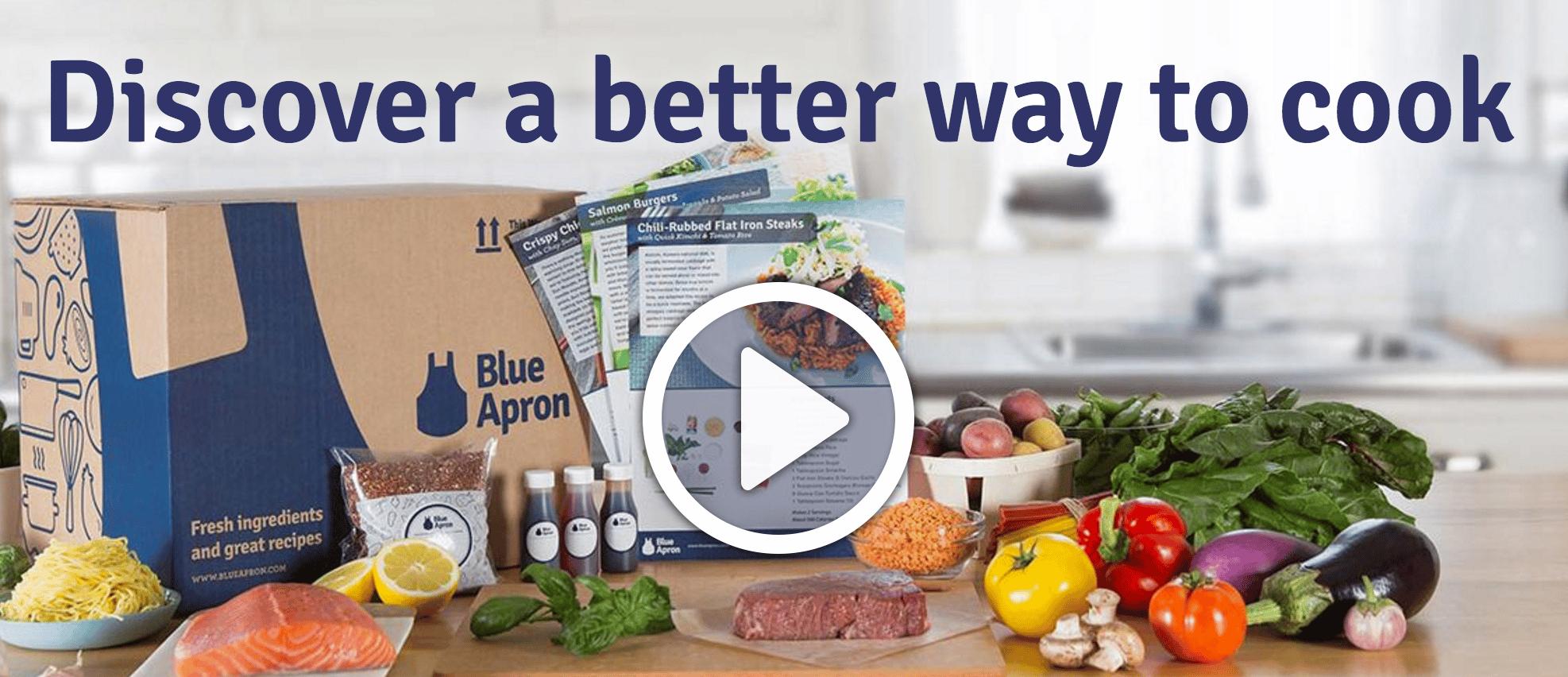 blue apron content marketing