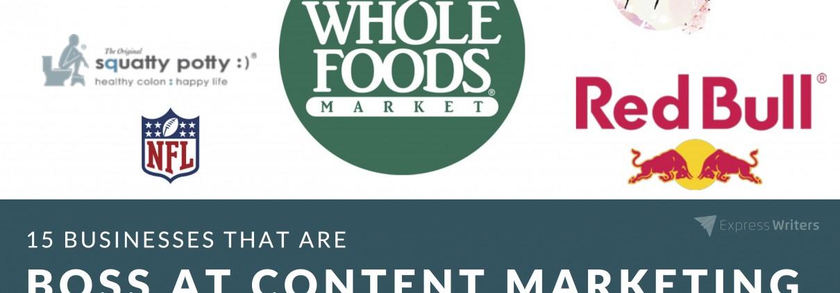 boss brands at content marketing