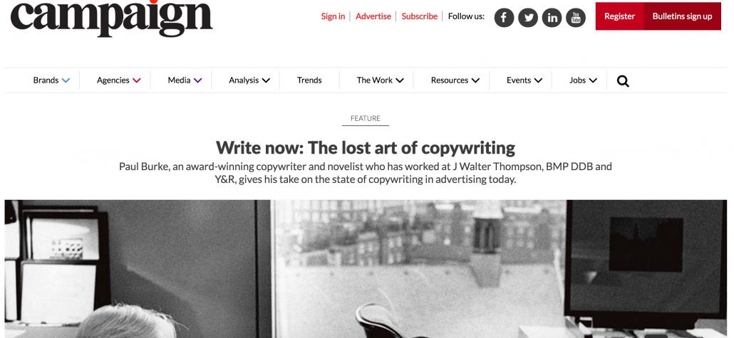 copywriting article