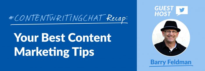 #ContentWritingChat, content marketing tips