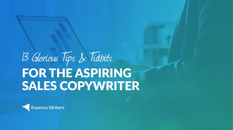 sales copywriter tips and tricks