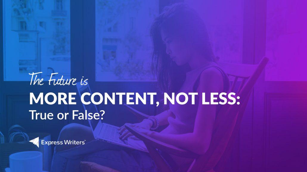 future of content marketing