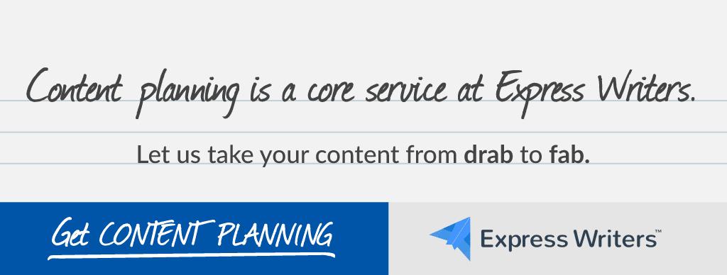 content planning cta