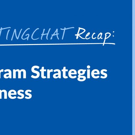 #ContentWritingChat Recap: Smart Instagram Strategies for Your Business with Sue B. Zimmerman