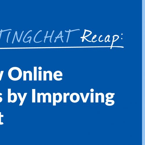 #ContentWritingChat Recap: How to Grow Online & in Business by Improving Your Mindset with Michele Walsh