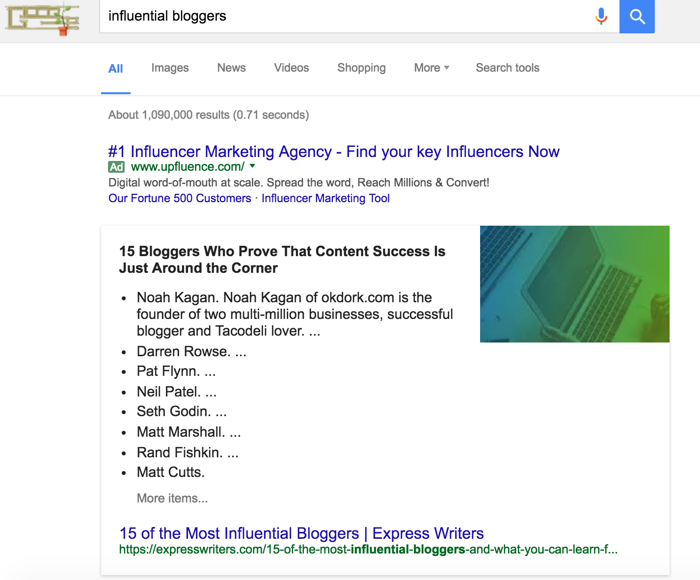 featured snippet ranking bloggers