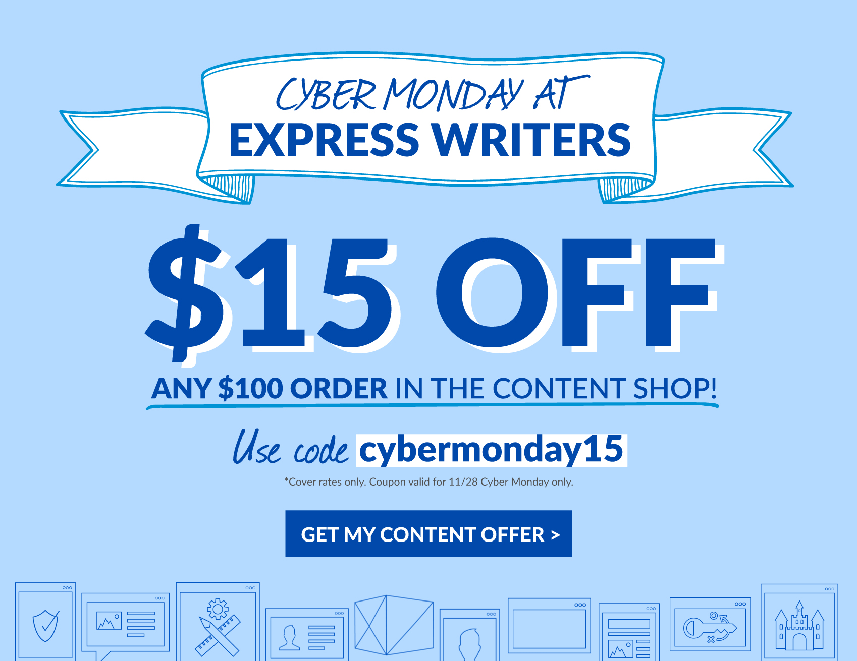 cyber monday newsletter
