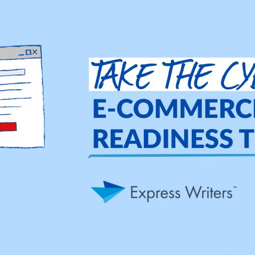Take the Cyber Monday E-Commerce Website Content Readiness Test