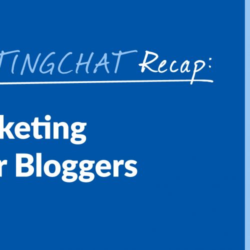 #ContentWritingChat Recap: Content Marketing Strategies for Bloggers with Lilach Bullock