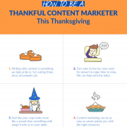 thankful content marketer