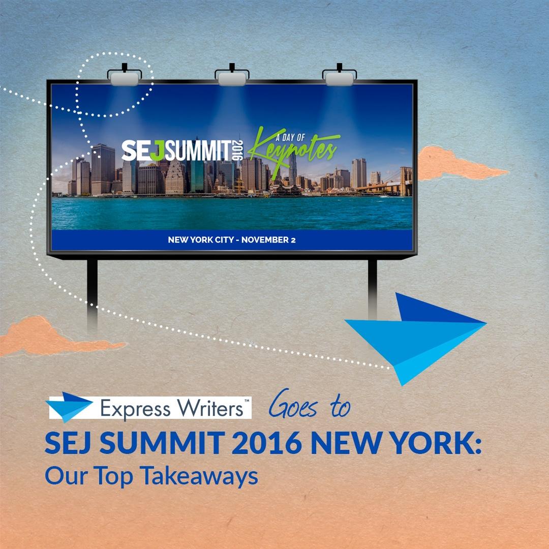 sej summit recap express writers
