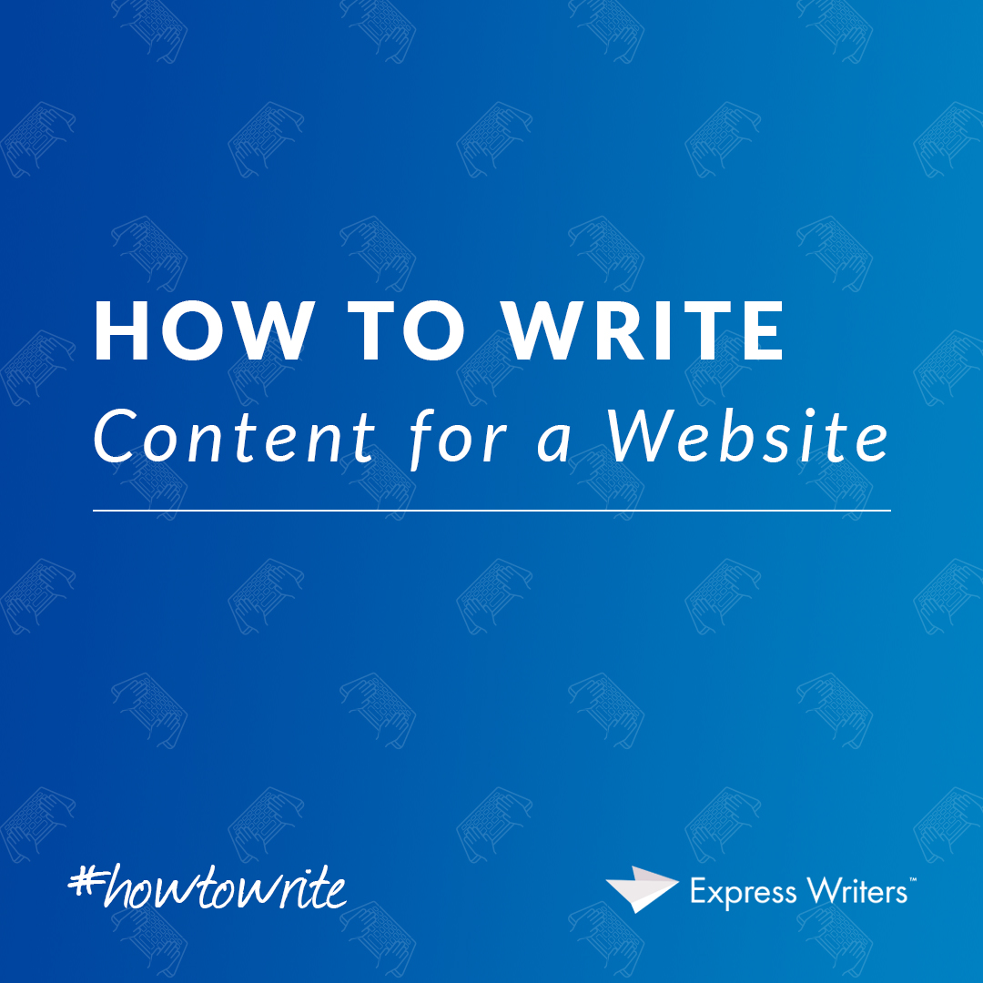 What is Web content writing  It