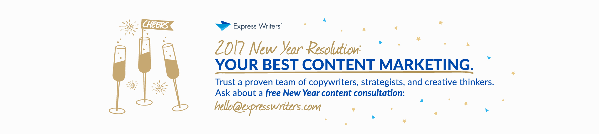 New Year CTA express writers