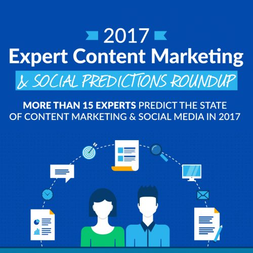 2017 Expert Predictions Roundup: More Than 15 Experts Predict the State of Content Marketing & Social Media