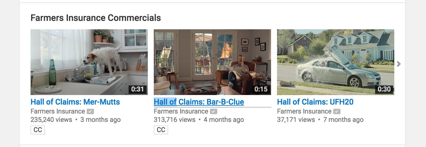 farmers insurance example