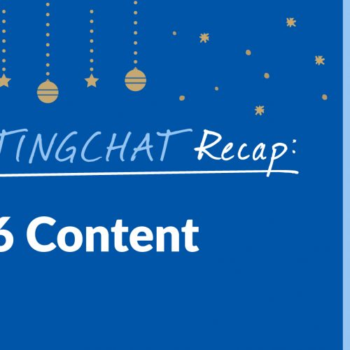 #ContentWritingChat Recap: Best of 2016 Content with Express Writers, AWeber, and Buffer