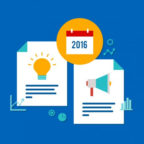 A Year of Content Marketing in Review (2016): The Hottest Types of Content & 5 Key Takeaways