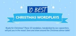 10 Best Christmas Wordplays (Infographic)