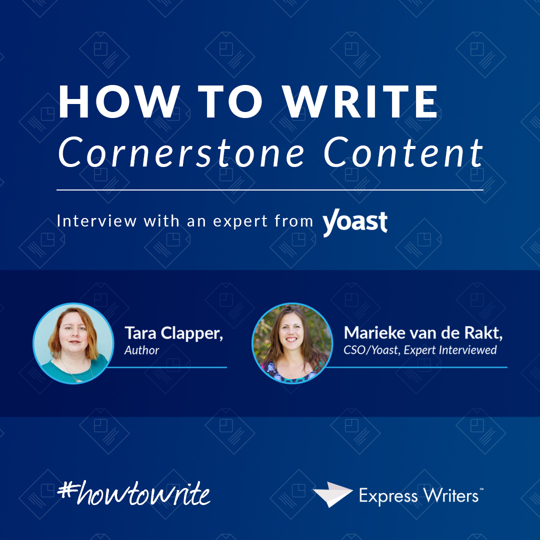 guide on how to write cornerstone content