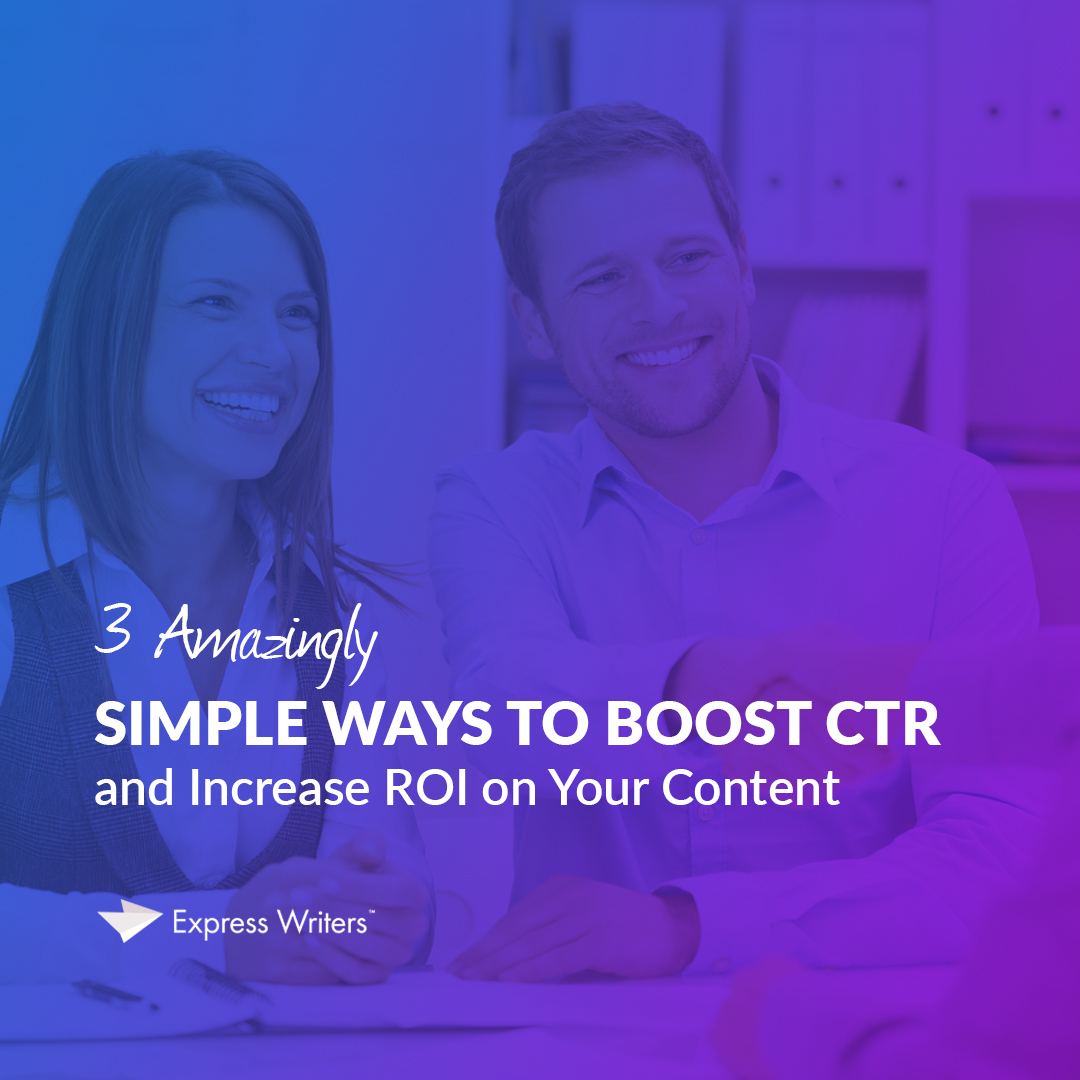 boost ctr on your content
