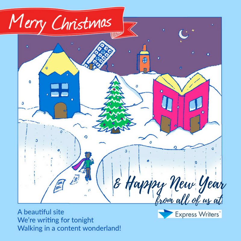 merry christmas from express writers