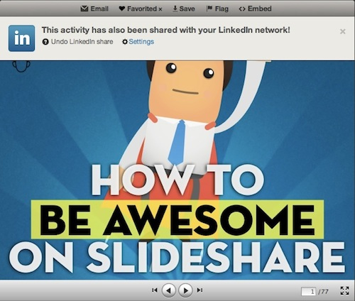 video in slideshare