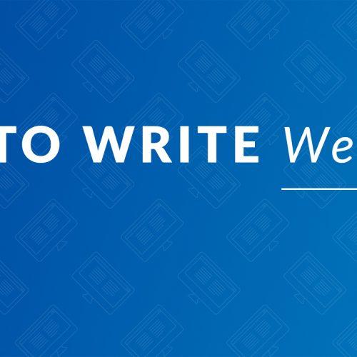 How to Write Web Copy