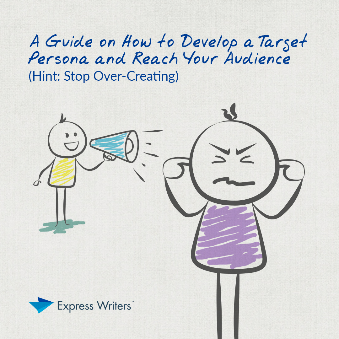 how to develop a target persona