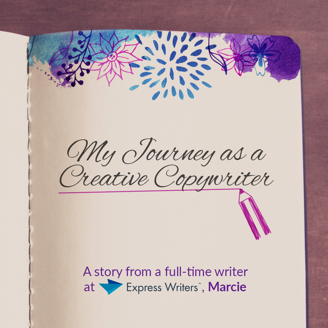 marcie's journey as a copywriter