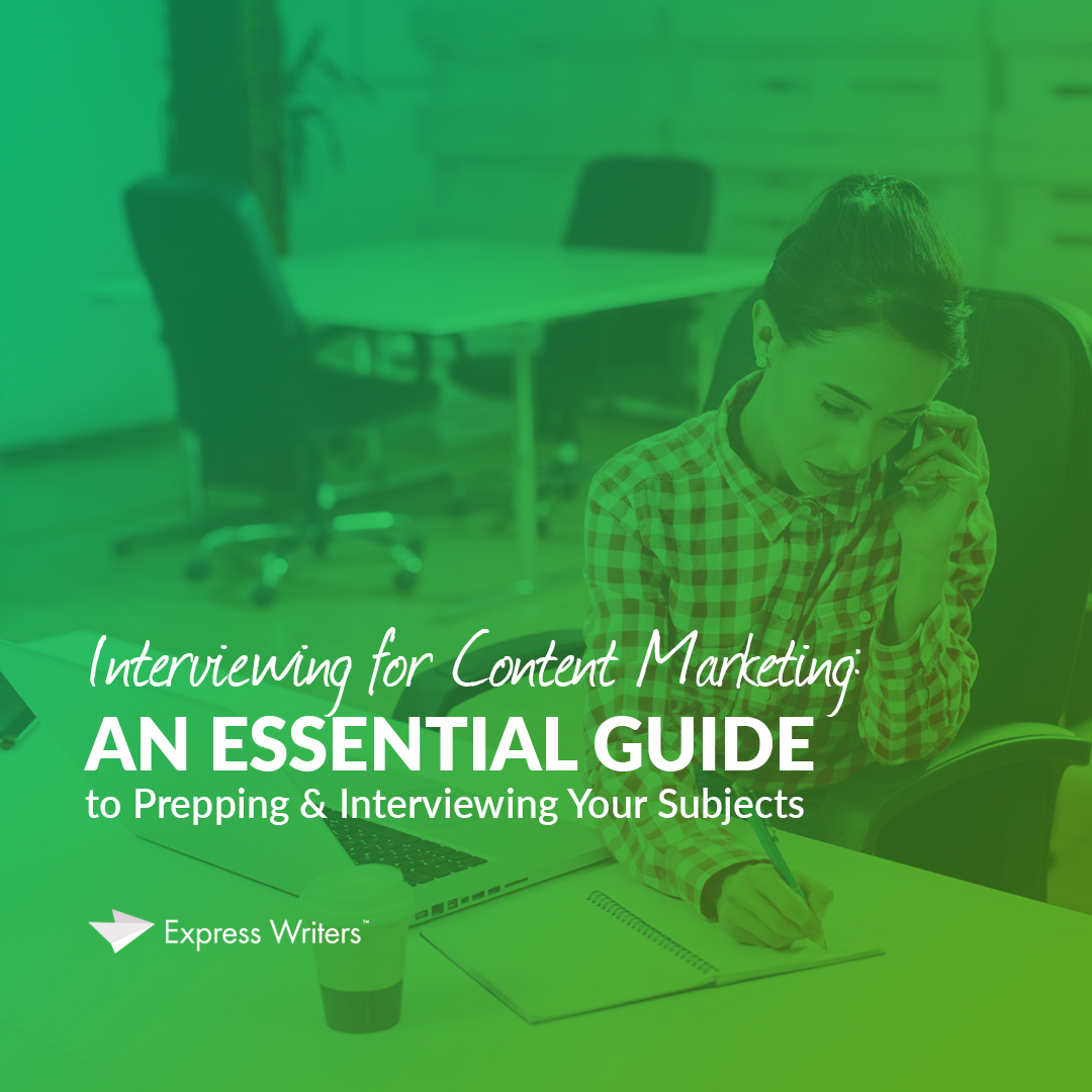 how to interview for content marketing