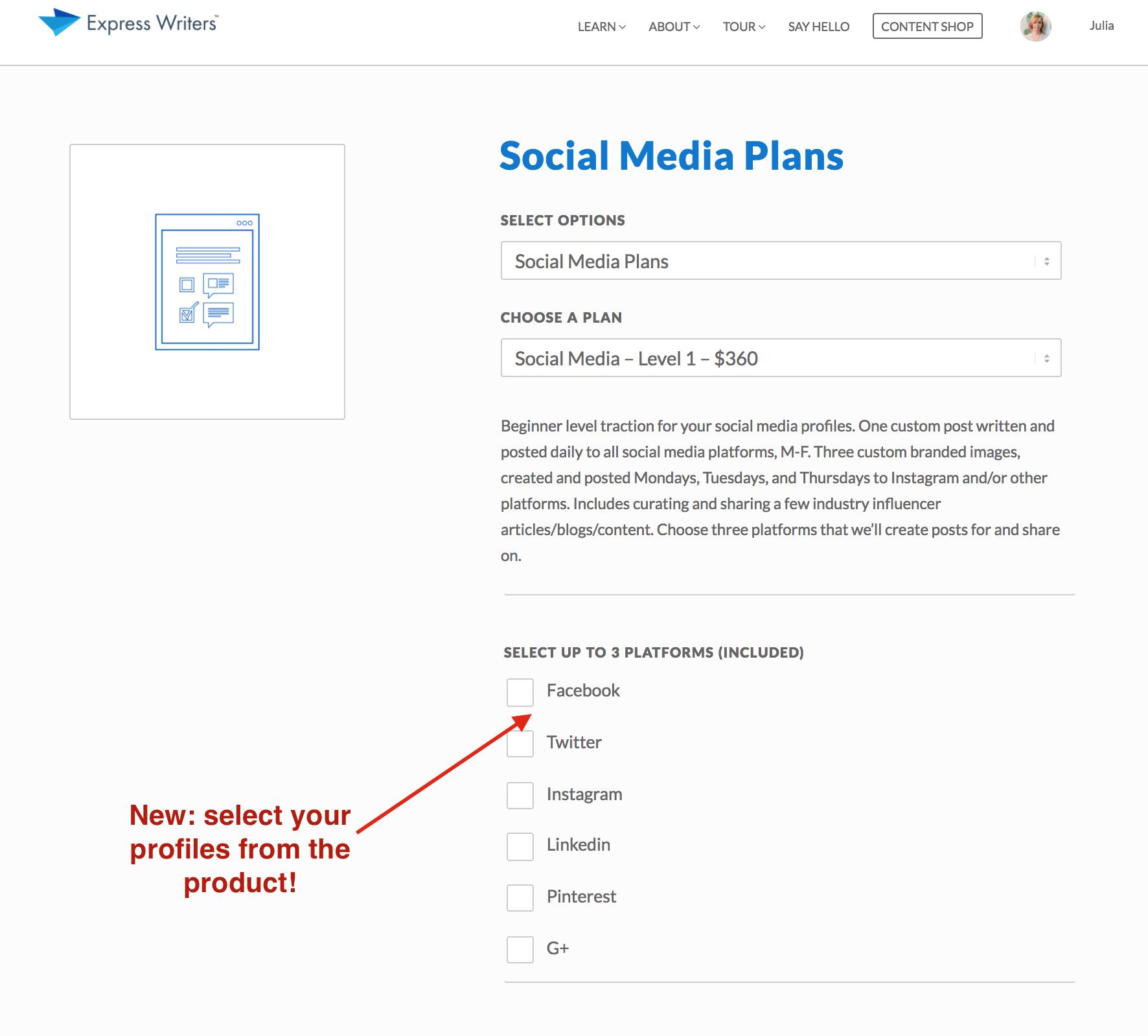 social media plans update