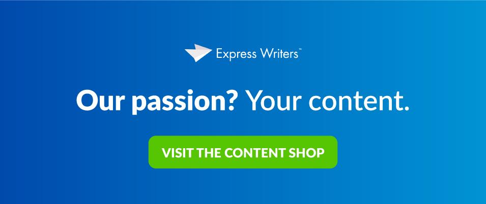 passion for content cta
