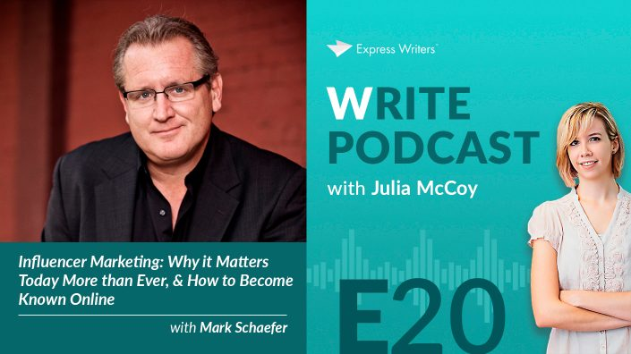 e20 write podcast