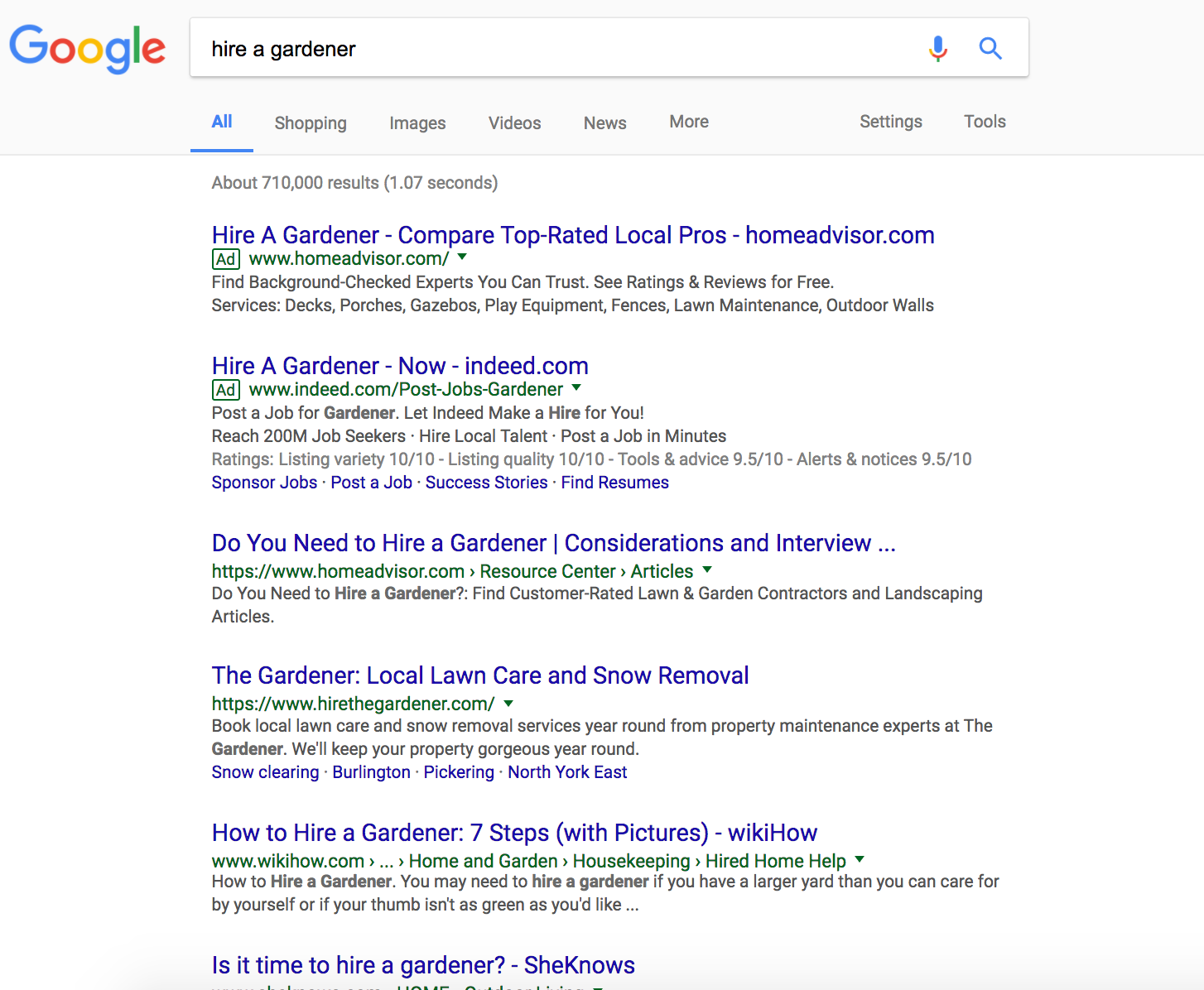 google general results