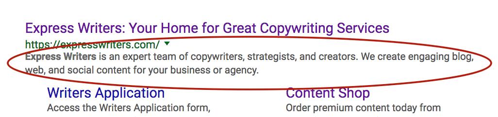 meta content example