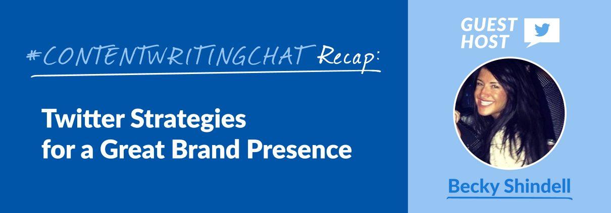 #ContentWritingChat, Twitter strategies