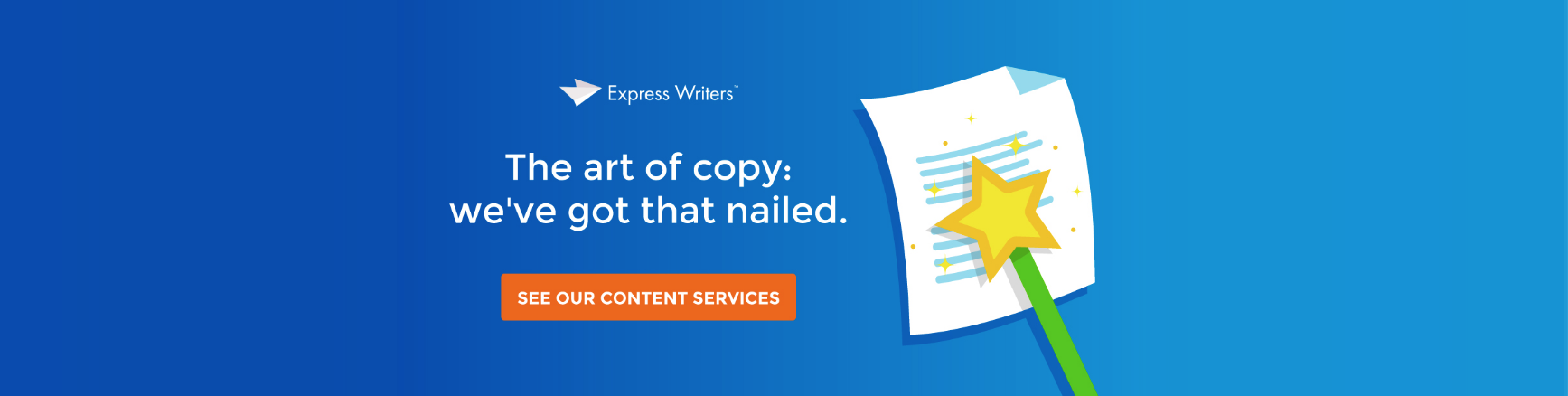 art of copy express writers
