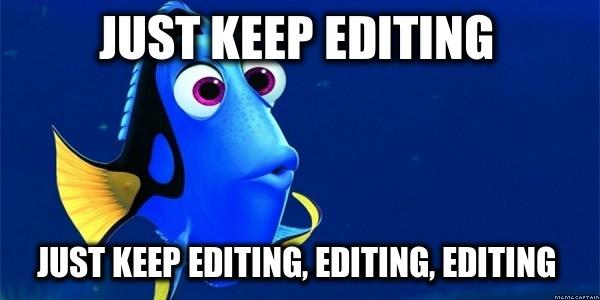 editing meme