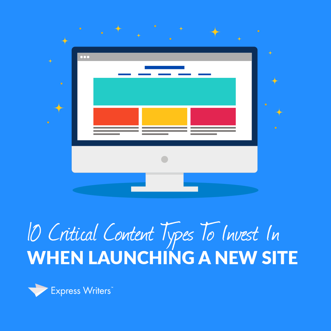content types for a new site