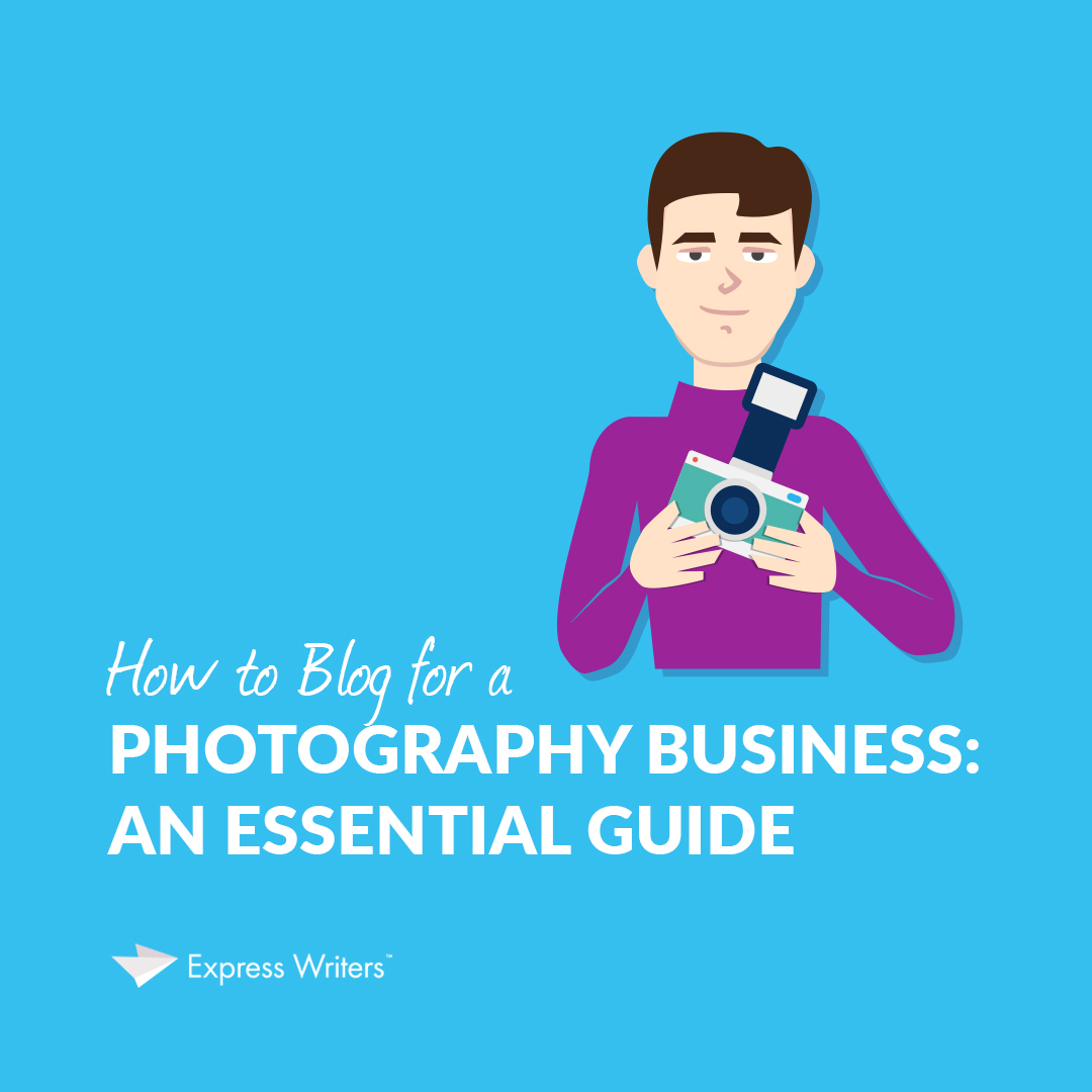 how to blog for a photographer