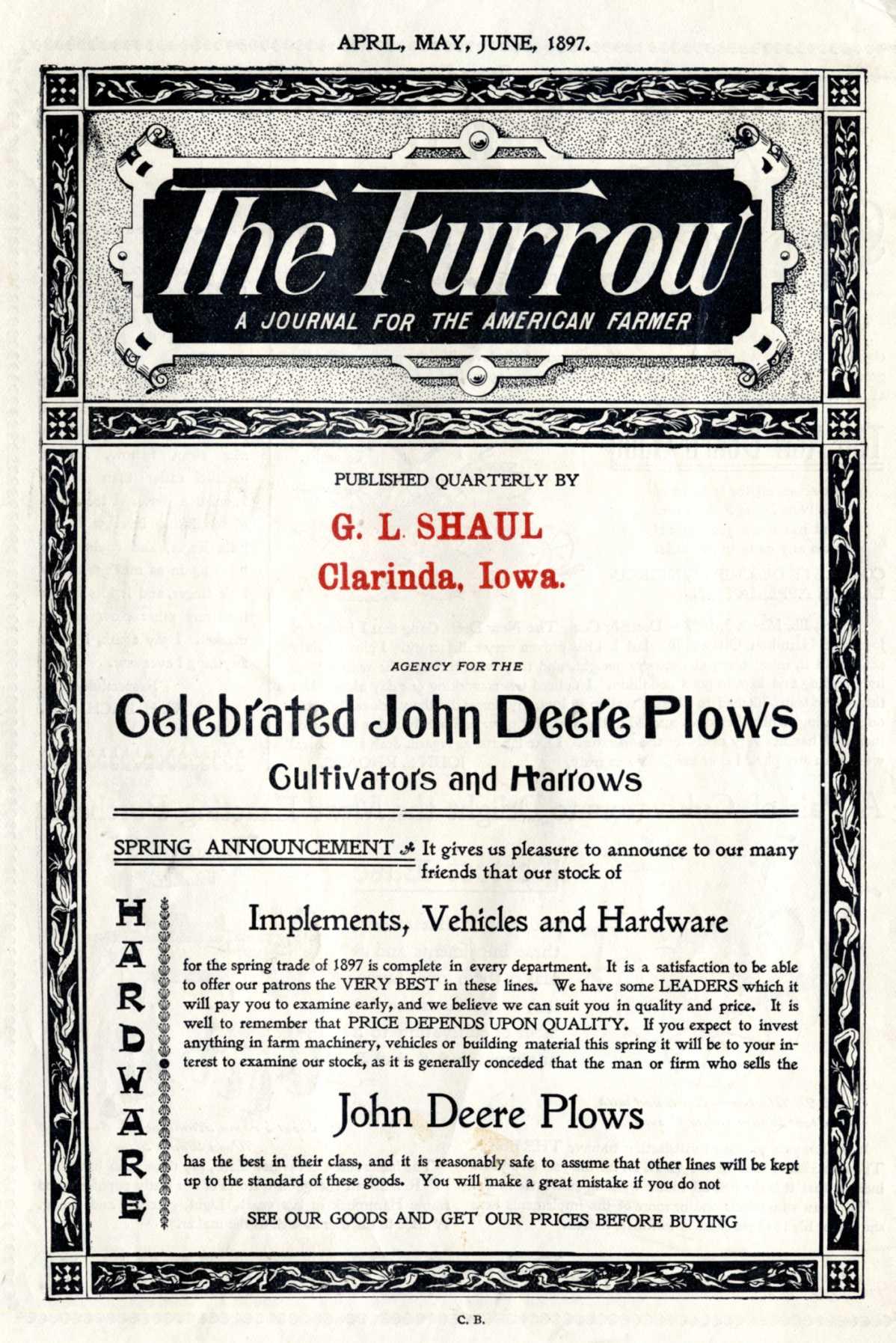john deere the furrow
